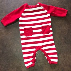 Cat and Jack Sweater Romper Longall 0-3 Months